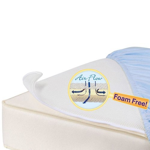 L.A. Baby Breathable Miracle Mat - Superior Ventilation Crib Mattress Topper