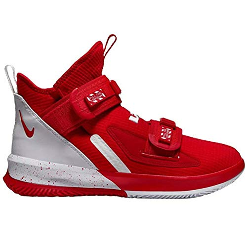 Nike Lebron Soldier 13 SFG Basketball Shoes (Red/White, Numeric_13)
