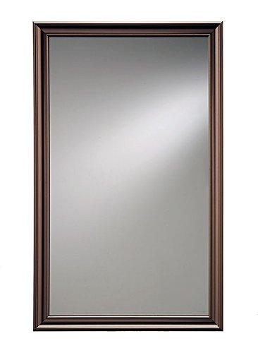Jensen 625N244BZPX Bronze Frame Medicine Cabinet, 15.75' x 25.5'