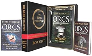 Stan Nicholls Orcs Bad Blood Collection 3 Books Set. (Weapons of Magical Destruction Bad Blood 1, Army of Shadows Bad Bloo...