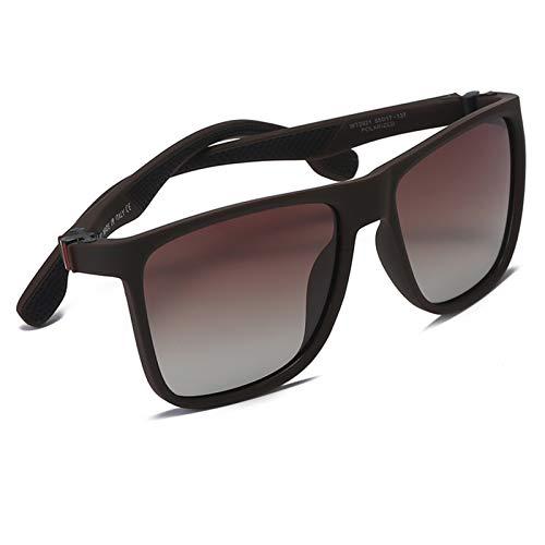 FDSJKD Retro Men Square PC Sun Glasses Women Weareye Vintage sunglasses for men sunglasses for Driving Travelling (Lenses Color : BROWN BROWN)