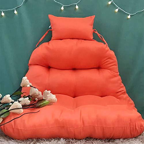 SXFYQ Hangmat, hangmat om op te hangen in het ei beweegbaar en wasbaar, dikke en comfortabele lopen, van Vimini kussen voor vogelstoel (zonder hangstoel)