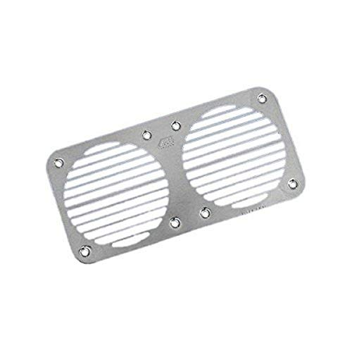 AFI Marine 11066 Stainless Steel Grill for 11058 Marine Concealed Dual Trumpet Below Deck Air Horn