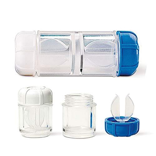 Antimikrobieller Kontaktlinsenbehälter (SynergiGP) für formstabile (harte) Kontaktlinsen