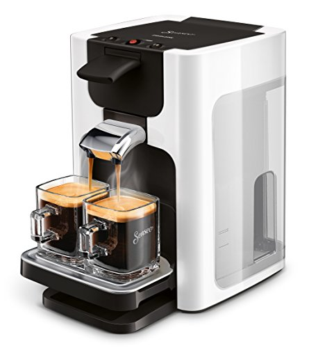 Philips Senseo HD7865/00 Quadrante Kaffeepadmaschine, XL-Wassertank weiß