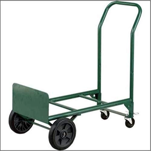 Harper Trucks Adjustable Folding Convertible Multi-Purpose Dolly and Cart Utility Hand Truck with 400 LB Weight Capacity