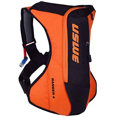 USWE Sports Ranger 4 Hydration Pack, Color Naranja, tamaño