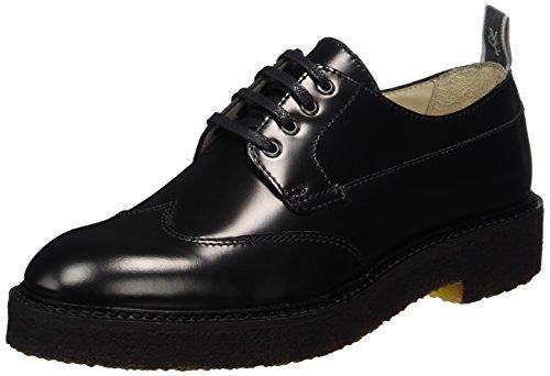 Marc O'Polo Damen Lace Up Shoe 70814263401112 Brogues, Schwarz (Black), 38 EU