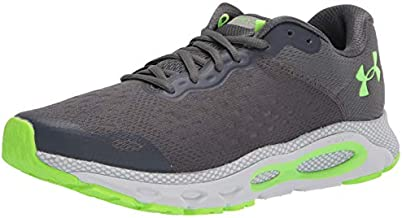 Under Armour Men's HOVR Infinite 3, Pitch Gray (107)/Halo Gray, 11 M US