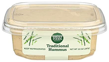 Whole Foods Market, Hummus Traditional, 10 Ounce