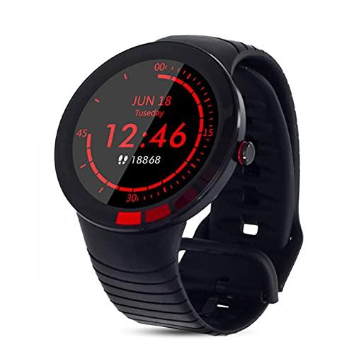 HYK Reloj Inteligente, Pulsera de Reloj Deportivo, IP68 a Prueba de Agua, rastreador de Ejercicios Bluetooth con Monitor de frecuencia cardíaca, Monitor de sueño de presión Arterial, para iOS Android