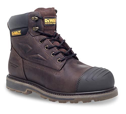 DeWALT - HOUSTON - Botas de seguridad, 15,2 cm, color marrón, talla 43