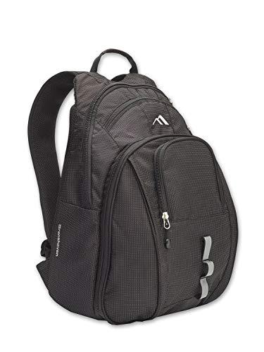 Brenthaven Tred Laptop Backpack For Office or School Use – (Omega-Black)