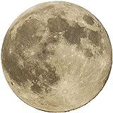 Startonight Cuadro sobre Vidrio - La Luna - Moderno Cuadro de Cristal Acrílico 60 cm