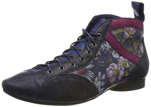 Think! Damen Guad_585288 Desert Boots, Blau (Navy/Kombi 84), 41 EU