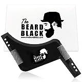 The Beard Black - Peine Plantilla Guía de Afeitado para Barba