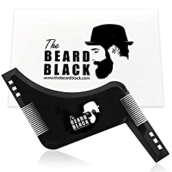 Beard Shaping Tool, which makes a great gift for men who are hard to find gifts for.