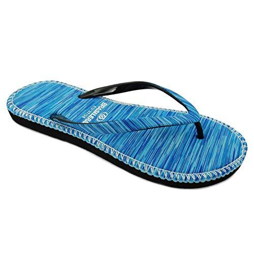 BRASILERAS , Damen Zehentrenner blau blau 35/36 EU
