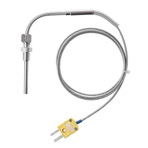 W.S.-YUE Misuratore di Gas for Gas di Scarico con Display Digitale EGT//Ext for Auto con Lente di Fumo 37MM