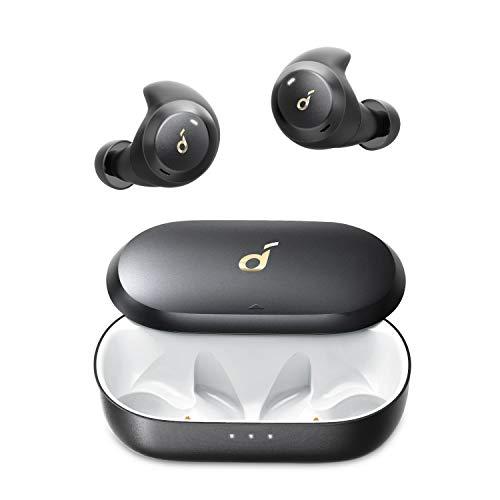 Anker Soundcore Spirit Dot 2(完全ワイヤレスイヤホン Bluetooth 5.0)【IPX7防水規格 / SweatGuardテクノロジー / 最大16時間音楽再生 / 短時間充電 (USB Type-C) / MCSyncテクノロジー / マイク内蔵 / PSE技術基準適合】スポーツ フィットネス ランニング