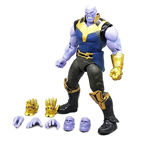 Siyushop Figuarts Thanos Avengers: Infinity War Action Figure - Thanos Action Figure - Super Villain Action Figure - High 6.3 Inches