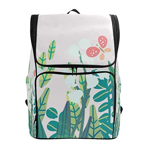 Fantazio Butterfly (2) Sac à Dos pour Ordinateur Portable, Voyage, randonnée, Camping, décontracté, Grand Sac à Dos pour l'école