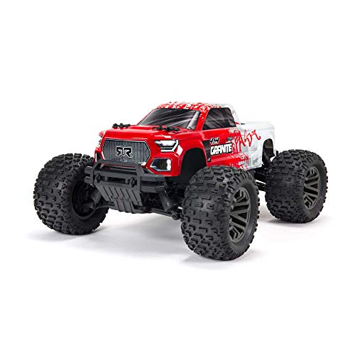 ARRMA 1/10 Granite 4X4 V3 3S BLX Brushless Monster RC Truck RTR (Transmitter and Receiver Included, Batteries and Charger Required)