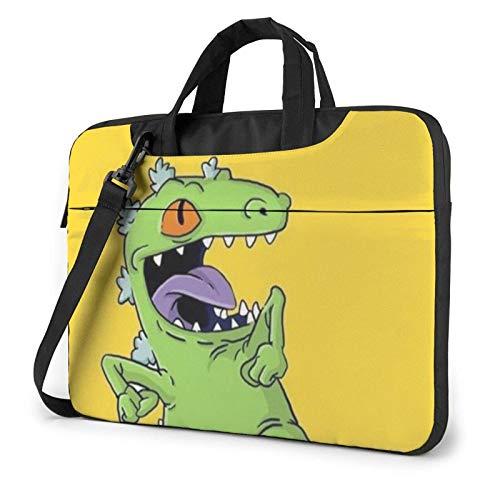El Dinosaurio de la Historieta imprimió el Bolso de Hombro del Ordenador portátil, maletín del Bolso de Mensajero del Negocio del Bolso de la Caja del Ordenador portátil