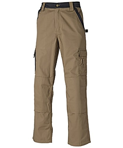 Dickies Industry300 Bundhose, Größe 25, Khaki/Schwarz