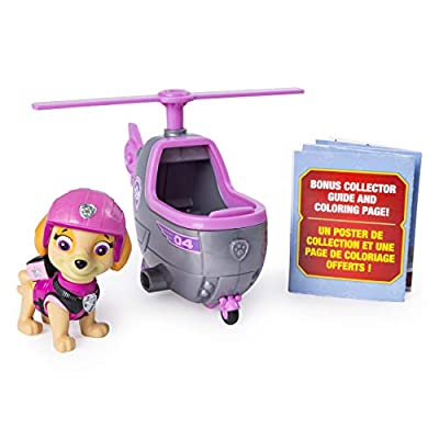 Paw Patrol 6046667 Skye Ultimate Rescue Mini Vehicle Toy, Multi-Colour por Spin Master