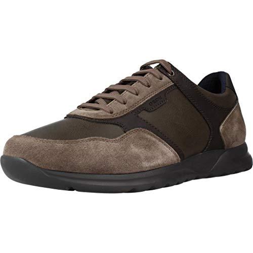 Sneakers Uomo - GEOX Damian - U940HA 0ME22, Taupe, 44