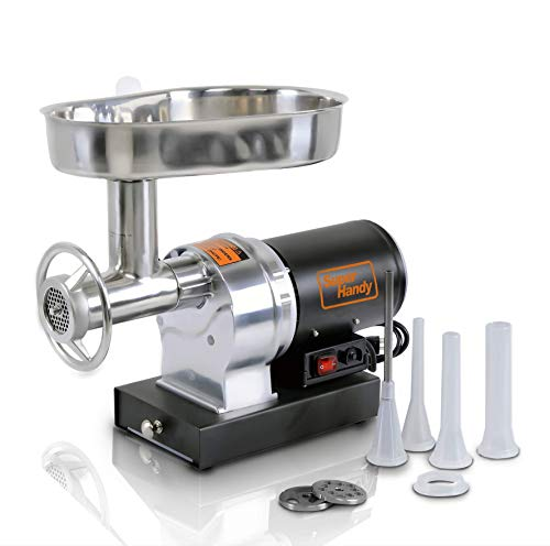 SuperHandy Meat Grinder Sausage Stuffer Electric #12 3/4 HP...