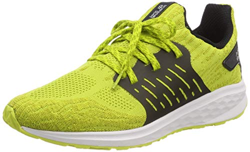 Jack Wolfskin Herren Coogee Knit Low Sneaker, Gelb (Green Lime 4038), 45.5 EU