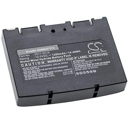 vhbw Batería Recargable Compatible con Minelab Sovereign GT Detector de Metal (1200 mAh, 12 V, NiMH)