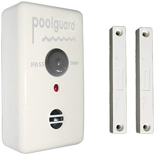 Poolguard GAPT-2 Outdoor Pool Gate Alarm,White