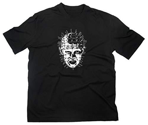 Hellraiser Pinhead Kult Horror T-Shirt, schwarz, S