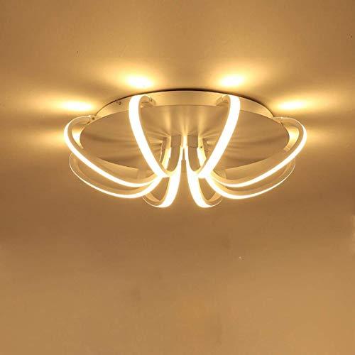 Dimbare Creative 8-Light bars plafondlamp, design, moderne binnenverlichting, metaal, acryl, kandelaar, slaapkamer, woonkamer, eetkamer, oneindig