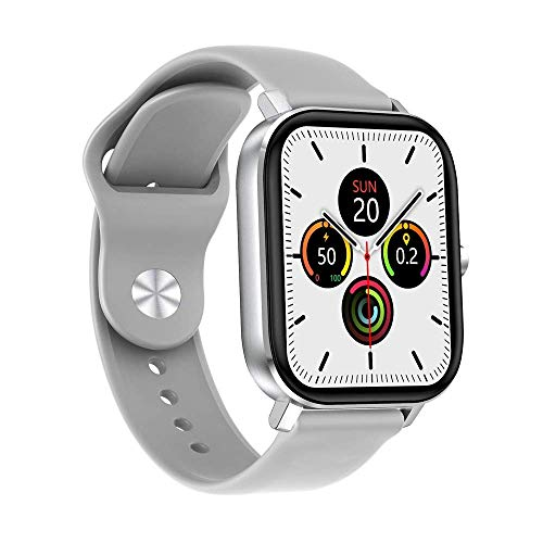 Gymqian Smart Watch 1.75 Pulgadas de Alta Definición Pantalla Grande Bluetooth Llamada Ip67 Deportes Impermeables Android Y Ios Regalo de vacaciones/Blanco