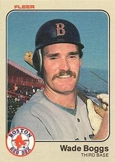 1983 Fleer Baseball #179 Wade Boggs Rookie Card