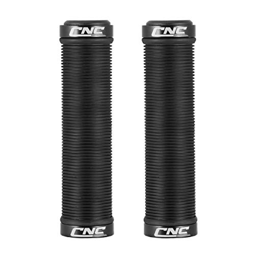 CNC Fahrrad Griffe,Mountainbike fahrradgriffe,Lenkergriffe 22mm für MTB,schwarz