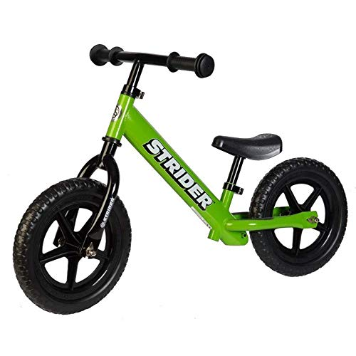 Strider 12 Classic No-Pedal Balance Bike Color: Green
