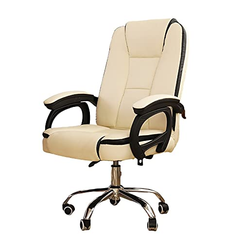 Sillas de escritorio Sillas y sofás Silla giratoria para Ordenador de casa Estudiar una cómoda Silla ergonomica Silla de Oficina para Personal con apoyabrazos y Rodillos