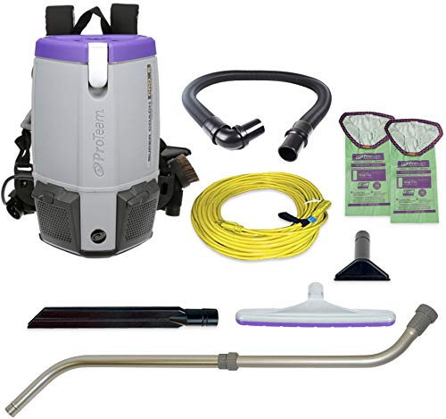 Check Out This Super Coach Pro 107310 6 Backpack Vacuum Cleaner with Xover Floor Tool Kit D , 15 He...