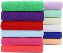 CHOUREN 70x140cm Absorbent Microfiber Bath Beach Towel Drying Washcloth Swimwear Shower,Variation:Red