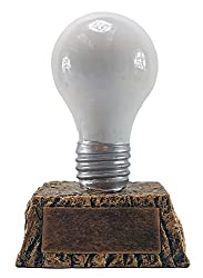 Lightbulb Trophy Award Trivia party