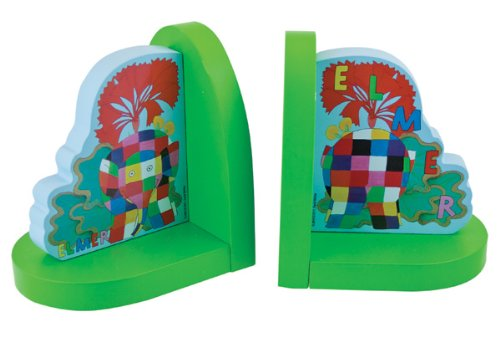 Elmer By David McKee - Bookends, By Rainbow Designs