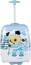 "Shanmao Kids' Rolling Luggage, 20"" Upright, Hard side Hard Shell, shanmao skiing"