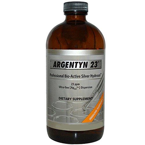 Argentyn 23 Professional Bioactive Silver Hydrosol 23 PPM Screw Top, 4 Ounce