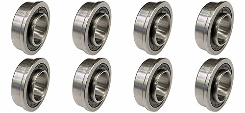 "XiKe 10 Pack Flanged Ball Bearings 3//4/"" x 1-3//8/"" x 1//2/"" inch Be Applicable L..."