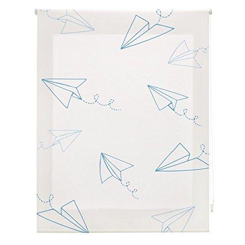 Sleepens Storalia - Estor Digital Infantil Art Print - Aviones - 130x180cm